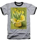 Easter Tulips Baseball T-Shirt by Maria Langgle