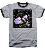 Rain Kissed Petals. This Flower Art Baseball T-Shirt by Mr Photojimsf
