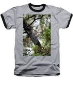 Spider Web In Tree Baseball T-Shirt by Willard Killough III
