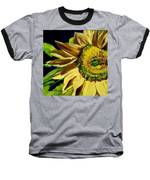 Sunflower Glow Baseball T-Shirt by Patti Ferron