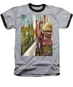 Mosque  Baseball T-Shirt by Nizar MacNojia