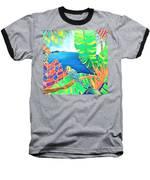 Colorful Tropics 16 Baseball T-Shirt by Hisayo Ohta