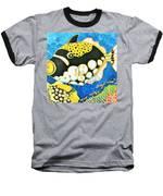 Colorful Tropics 18 Baseball T-Shirt by Hisayo Ohta