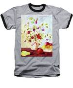 Harvest Time-still Life Painting By V.kelly Baseball T-Shirt by Valerie Anne Kelly