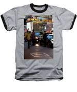 New York, New York 29 Baseball T-Shirt by Ron Cline