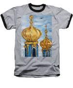 Pushkin Palace Towers Baseball T-Shirt by Maria Langgle