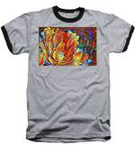 Vibrancy Baseball T-Shirt by Missy Gainer