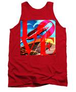 Love Swirls At The San Francisco Cupids Span Sculpture Dsc1819 Tank Top by Wingsdomain Art and Photography