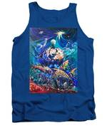 Planet  Earth - Our Family Tree Tank Top by Sigrid Tune