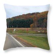 Autumn On 179 Throw Pillow