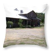Butlers Mill Restaurant Throw Pillow