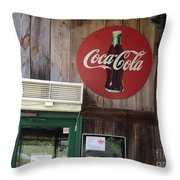 Coca Cola Throw Pillow
