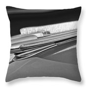 1948 Chevrolet Hood Ornament Throw Pillow