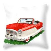 1961 Metropolitian Throw Pillow
