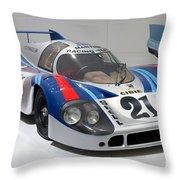 1971 Porsche 917 Lh Coupe Throw Pillow