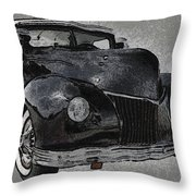 39 Custom Coupe Throw Pillow