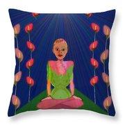 849 - Inner  Balance   Throw Pillow