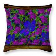 A Golden Summer Night Fantasy Throw Pillow by Pepita Selles