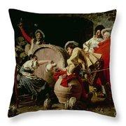 A Good Vintage Throw Pillow