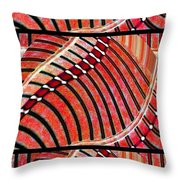 Abstract Fusion 204 Throw Pillow