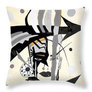Abstraction 269 - Marucii Throw Pillow