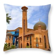 Al Tujjar Mosque Throw Pillow