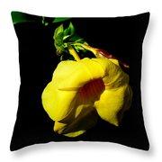 All Yellow Throw Pillow