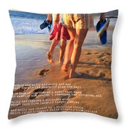 Always Ourselves We Find In The Sea Throw Pillow