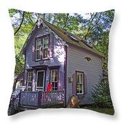 Amazing Grape In Asbury Grove In South Hamilton-massachusetts Throw Pillow