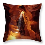 Antelope Canyon Ray Of Hope Throw Pillow