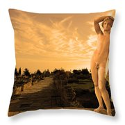 Apollo Sacred Street Throw Pillow