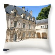 Arch View Palace Bussy Rabutin Throw Pillow