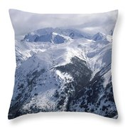 Argentina. Andes Mountains Throw Pillow by Anonymous