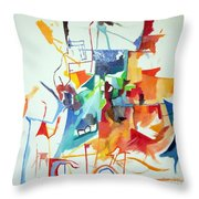 At The Age Of Three Years Avraham Avinu Recognized His Creator 1 Throw Pillow