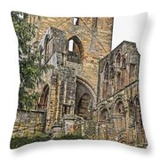 Augustinian Abbey Throw Pillow