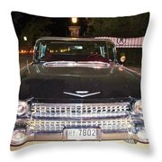 Black And Chrome Beauty Throw Pillow