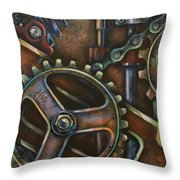 'blue Harmony' Throw Pillow