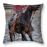 Breaking Of The String Throw Pillow