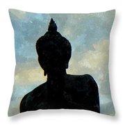 Buddha 29 Throw Pillow