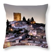 Castle Quarter Throw Pillow
