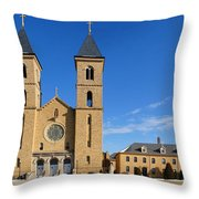 Cathedral Of The Plains Throw Pillow