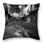 Chinatown New York City - Doyers Street Throw Pillow by Gary Heller