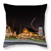 Christmas Celebration At Billy Graham Throw Pillow