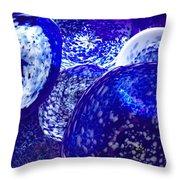 Chuli Blown Glass Throw Pillow