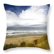 Coastal Breeze Throw Pillow
