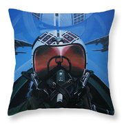 Colonel Dave Dollarhide Throw Pillow