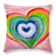 Colourful Dreams Throw Pillow