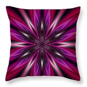 Dark Purple Abstract Star Duvet Cover  Throw Pillow