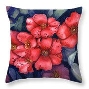 Dew Drop In Throw Pillow