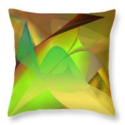 Dreams - Abstract Throw Pillow by Gerlinde Keating - Galleria GK Keating Associates Inc